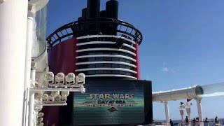 Star Wars At Sea Ship Horn