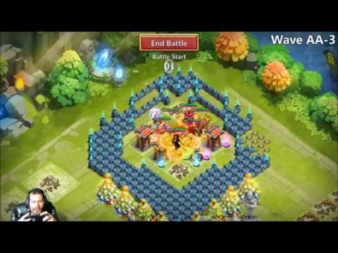 FINALLY Set Up HBM Base Beating AA ONE TIME Castle Clash Crisis