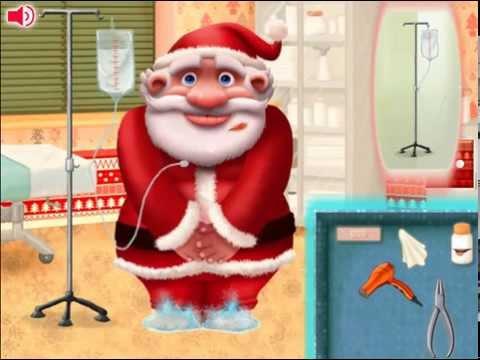 Игра Дед Мороз собирает fog gameru