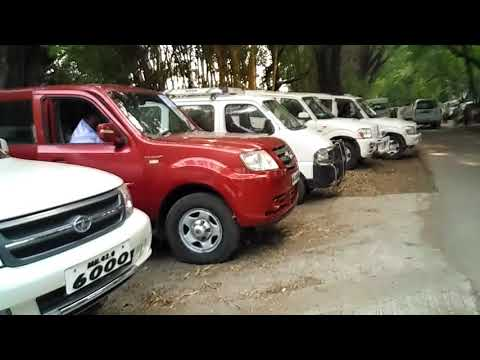 For Pune District Central Co-operative Bank centenary celebration... cars, cars & cars!!