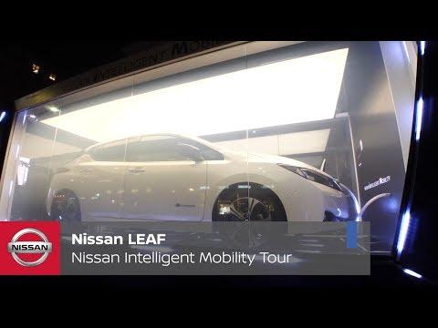 Nissan Intelligent Mobility Tour: anteprima della nuova Nissan LEAF