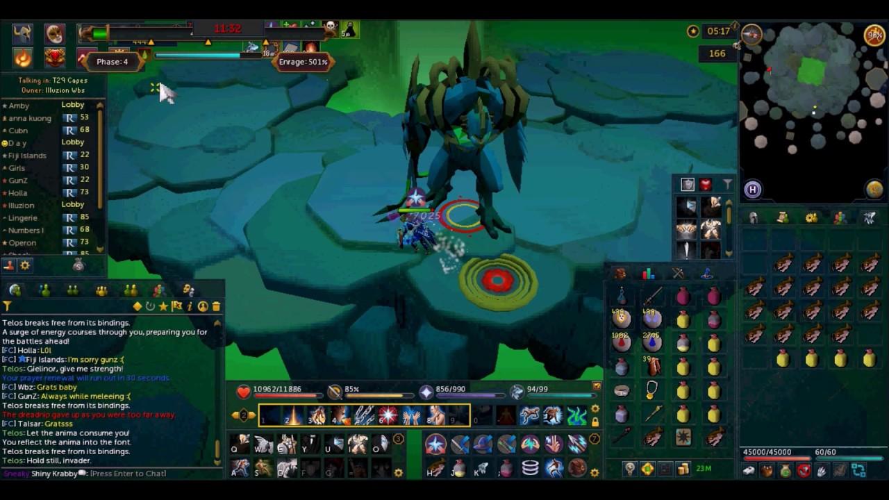 Runescape: Telos - Warden Title Kill