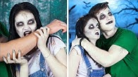 16 Funny Zombie Pranks / What If Your BFF Is A Zombie