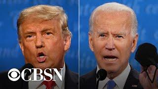 CBS News fact checks the final Trump-Biden debate
