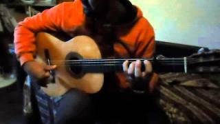 Guitara Flamenca Negra   - Fesno Luthier -