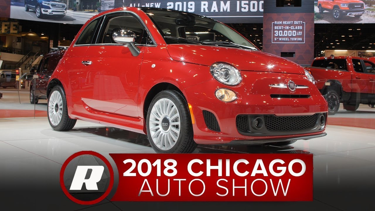 It's turbo-only for the 2018 Fiat 500 - 2018 Chicago Auto Show