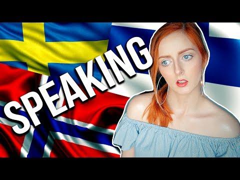 SPEAKING FINNISH, NORWEGIAN & SWEDISH