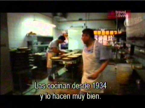 Anthony Bourdain en El Cuartito  '05