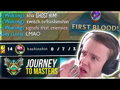 GAINING ELO THE EASY (CHEATING) WAY? MASTERS INC? - Journey To Masters   League of Legends