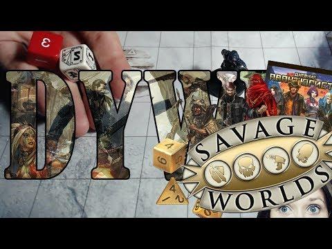 Savage Worlds - основные правила механики