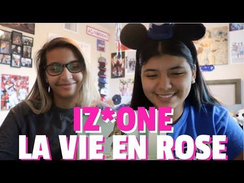 IZ*ONE 'La Vie En Rose' MV REACTION!!!