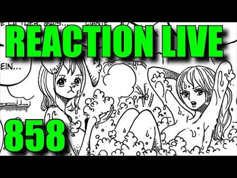UN CHAPITRE BOOBESQUE -  REACTION LIVE ONE PIECE 858 CHAPITRE