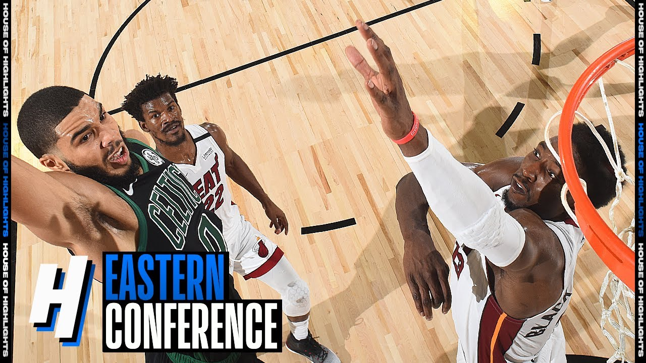 Download Bam Adebayo CLUTCH BLOCK On Jayson Tatum - Game 1   Heat vs Celtics   2020 NBA Playoffs
