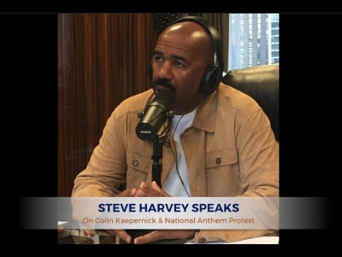 Steve Harvey Speaks: Colin Kaepernick and the National Anthem Protest