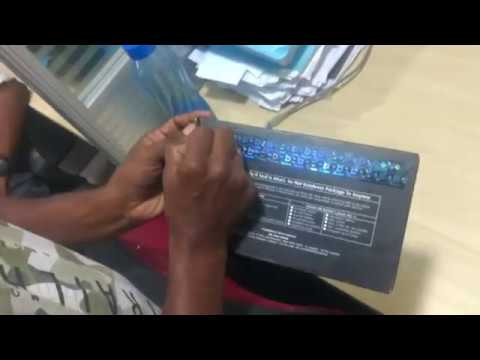 UNBOXING RBL platinum maxima credit card