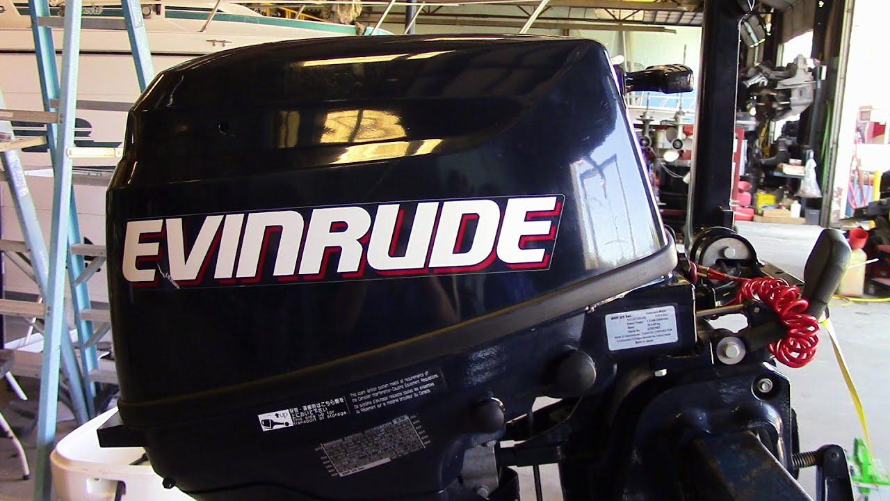Evinrude 15 Hp >> 6M6F25 Used 2011 Evinrude E10R4IN 9.8HP 4-Stroke Tiller ...