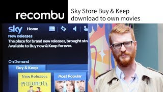 Sky Store launches Buy & Keep download to own service