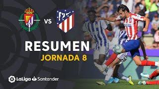 Resumen de Real Valladolid vs Atlético de Madrid (0-0)