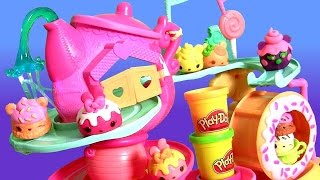 Num Noms Go-Go Cafe Playground Playset & Play Doh Mystery Cup Surprise Motorized by Disney Collector