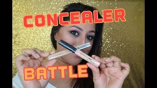 Battle of Drugstore Concealers I L'Oreal I Maybelline ** B Beautiful by Binita **