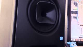 KATFYR on the PreSonus Sceptre monitor speakers