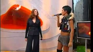 t.A.T.u. - All About Us - Live at MTV TRL Italy - Part 1/3 (2005)