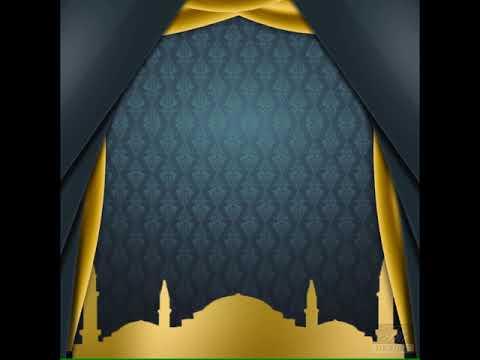 Background Greenscreen Video Ucapan Selamat Idul Fitri Undangan