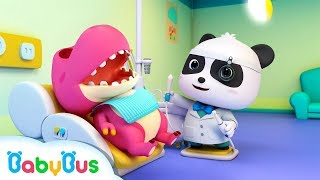 Doctor Panda Cures Baby Dinosaur's Toothache | Doctor Cartoon | Kids Songs | BabyBus