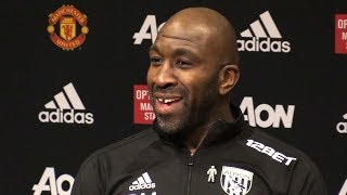 Manchester United 0-1 West Brom - Darren Moore Full Post Match Press Conference - Premier League