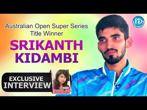 Indian Badminton Star Srikanth Kidambi Exclusive Interview  || Talking Sports with iDream