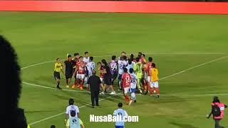 Ribut di Akhir Laga Bali United vs Persib Bandung