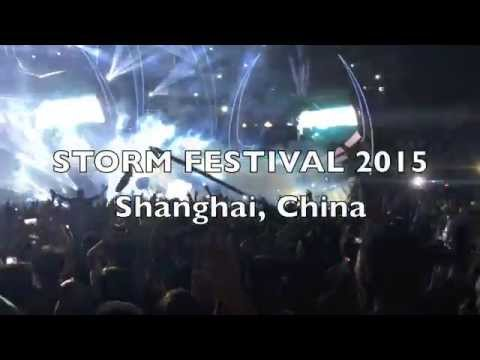 STORM Electronic Music Festival Shanghai 2015