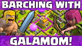 Clash of Clans Town Hall 7 ♦ Barch! ♦ Clashing With Galamom Episode 1 ♦ CoC ♦