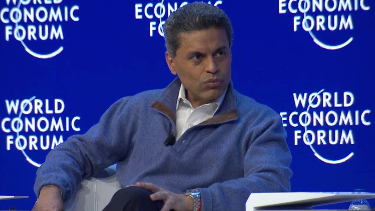 Image result for fareed zakaria in davos 2018