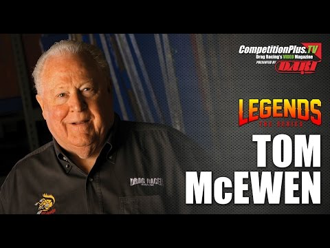 LEGENDS: THE SERIES - TOM MCEWEN: THE THRILL OF VICTORY AND AGONY OF PERSONAL DEFEAT
