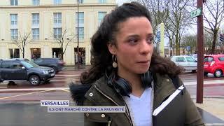 Versailles : ils ont marché contre la pauvreté