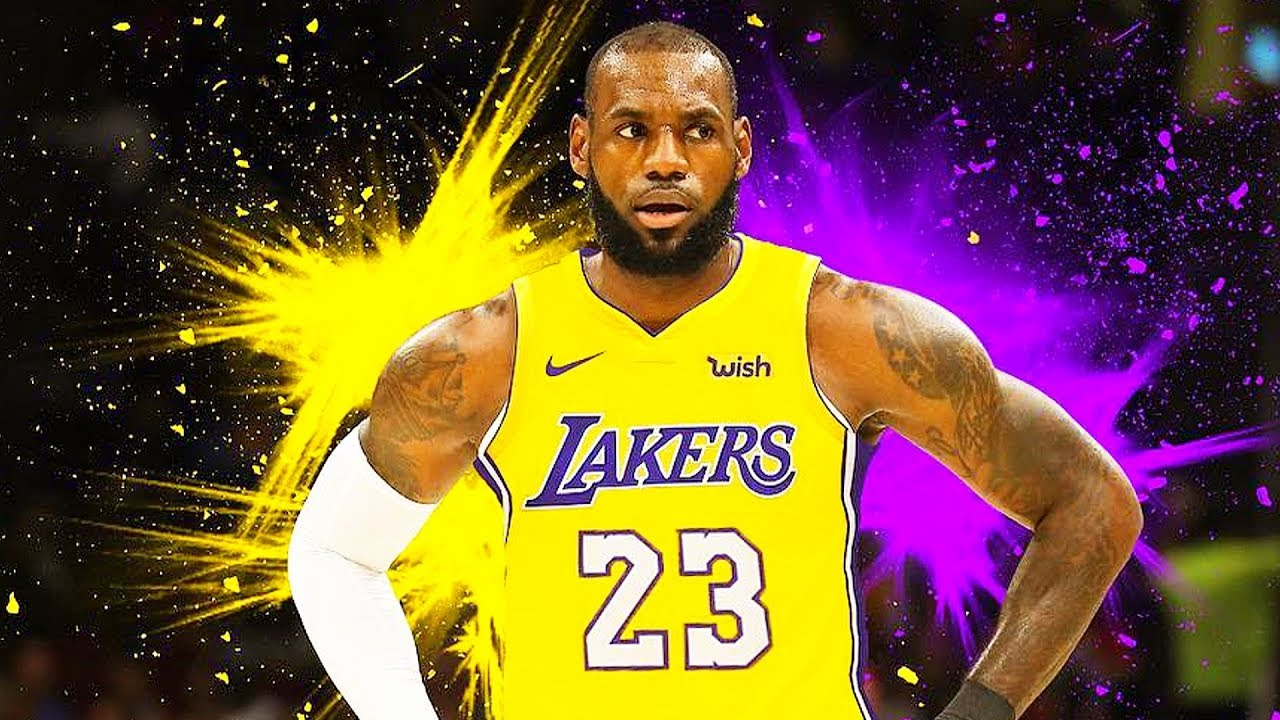 Image result for lebron in a lakers jersey
