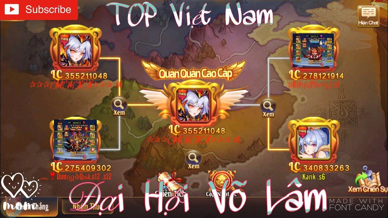 OMG 3Q | Đại Hội Võ Lâm Việt Nam - Nơi Quy Tụ TOP Việt Nam Vs Trận Pk Huỷ Diệt Của TOP 1 S6 Maxx