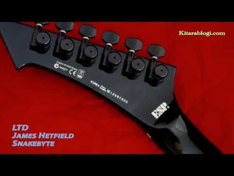 LTD James Hetfield Snakebyte +++ Kitarablogi.com