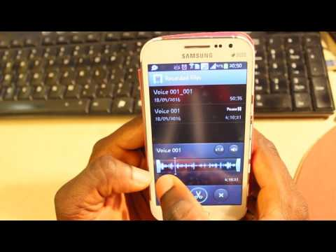 How to Trim or Edit Audio File using Samsung Smart Phone