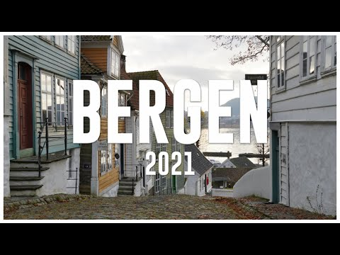 BERGEN, Norway 2021 - A quick tour around the city