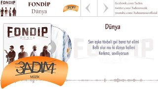Fondip - Dünya  (Official Lyric Video)