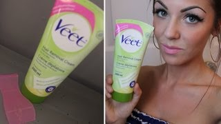Review: Veet Hair Removal Cream with Demo