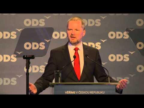 Nominační projev Petra Fialy na předsedu ODS