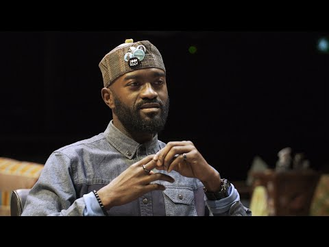 Inua Ellams on his play Barber Shop Chronicles: 'I became a black man when I arrived in England'