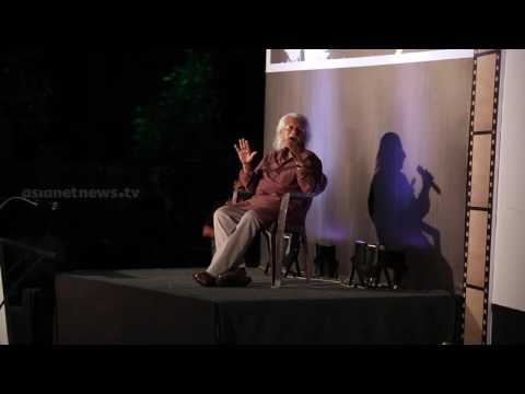 Indian Film Director Adoor Gopalakrishnan Sharing His Experience in Film industry PART II