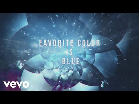 Robert DeLong - Favorite Color Is Blue (Lyric Video) ft. K