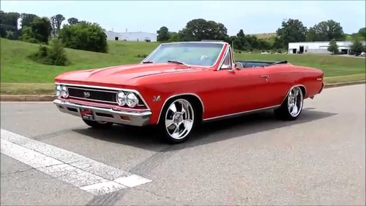 1966 Chevy Chevelle Ss Convertible 572