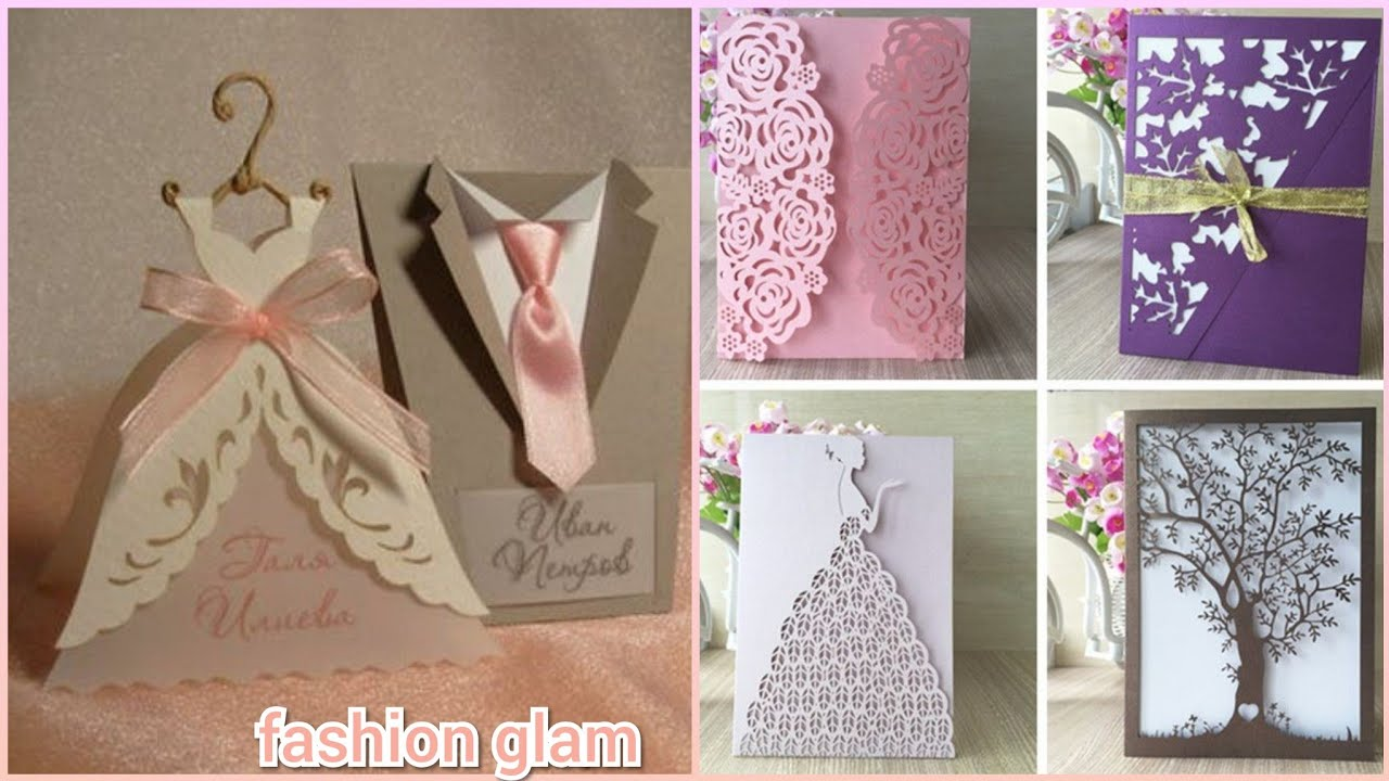 Most Beautiful And Unique Wedding Invitation Cards Ideas Laser Cut Invitations