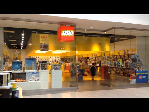 Tour of the Lego Store at Opry Mills Mall in Nashville TN - YouTube